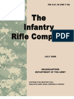 FM 3-21.10 the Infantry Rifle Company