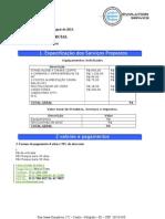 Proposta Comercial CFTV
