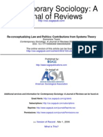 Re-Conceptualizing Law and Politics Contributions From Systems Theory