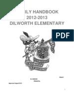 Handbook 2012-2013 Dilworth