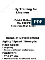Agilty Training for Linemen