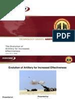 Evolution of Artillery