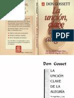Don Gossett - La unción clave de la alegría