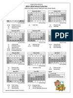 Robla School District Calendars 2013-14