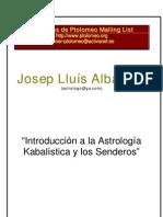 Albareda Josep - Astrologia Kabalistica Y Los Senderos