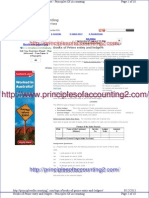 Books of Prime Entry and Ledgers - Principles of Accounting