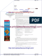 Clubs and Societies - Principles of Accounting