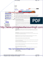 Company Accounts - Principles of Accounting