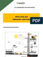 PATOLOGIA DAS VEDAÇÕES VERTICAIS - PARTE 1