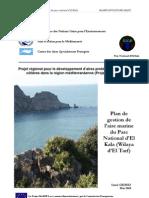 Plan de Gestion de l Aire Marine Du Parc National d El Kala