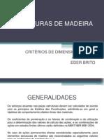 Estruturas de Madeira - Aulas 6 e 7