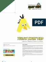 Yellow Bird Angry Birds by Hobikitkertas