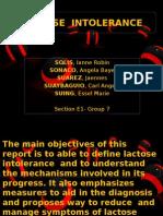 Lactose Intolerance Final Presentation
