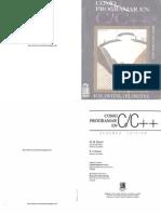 49097-Como Programar en C y C++ - 2da Edición - Harvey M. Deitel & Paul J. Deitel