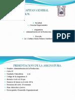 Admon. de La Produccion- Clase 1