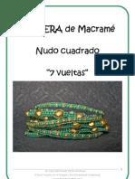 E-book MACRAME Pulsera 7 Vueltas