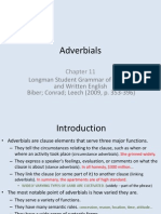 Adverbial s
