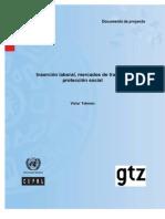 Inserción laboral mercados de trabajo y protección social_Tokman