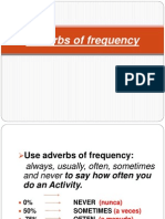 Class Frequency Adverbs