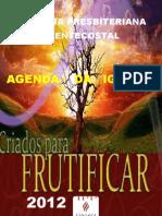 1 Capa Da Agenda 2012 Igreja Presbiteriana