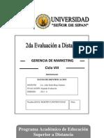 Segunda Evaluacion a Distancia GM 2013 II