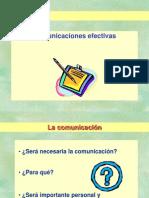 Comunicaciones efectivas 1