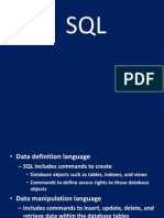 Ddl & Dml Command