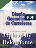 DG de Carreteras James Cárdenas