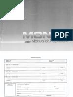 Manual Monza 1988