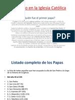 El Papado en la Iglesia Católica