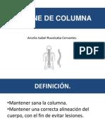 Higiene Columna