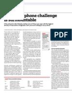 The smartphone challenge