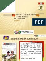 Adaptacion Curricular SECUNDARIA