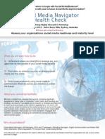 Social Media Navigator Health Check