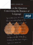 Martin Heidegger-Logic As the Question Concerning the Essence of Language (SUNY series in Contemporary Continental Philosophy)-State University of New York Press (2009).pdf