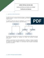 Certificación del Sistema