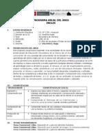 Programacion Anual de Ingles 2012 1er año