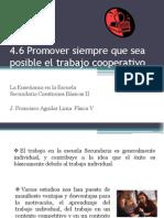 Promover El Trabajo Cooperativo
