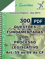 Do Processo Legislativo - Apostila Amostra