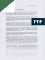 Carta de Postulantes a BECAS