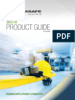 Backsafe Product Guide 2013