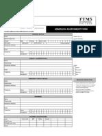 R02 - FTMS Assessment Form