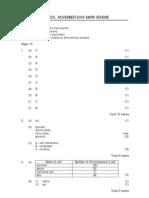 IGCSE Biology 4325 Mark Scheme November 05 P1F FINAL