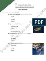 Cyprus Questionnaire (SER)