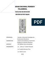 Planificacion de Auditoria Unfv 2013