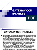 Gateway Con Iptables