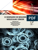 Diapositivas de Cancer 2013