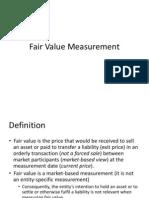 AASB141 & AASB13 Fair Value Measurement