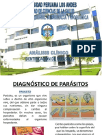 Diagnostico de Parasito