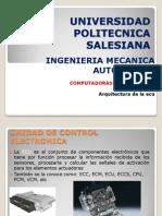 Arquitectura ECU (1)